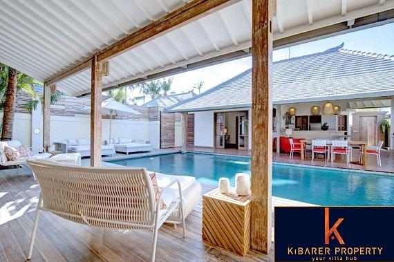 Baru 4 bedroom villa dijual di Seminyak