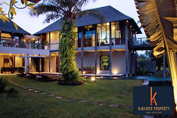 Villa dengan pemandangan sunset di Canggu