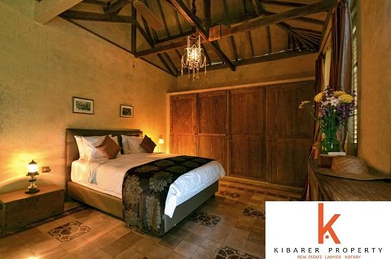 Joglo Jawa gaya real estate untuk dijual Dalam Jimbaran