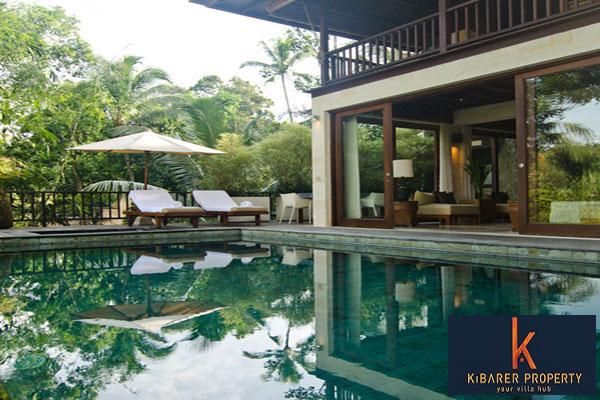 Menakjubkan Freehold Jungle View Villa Dijual di Ubud