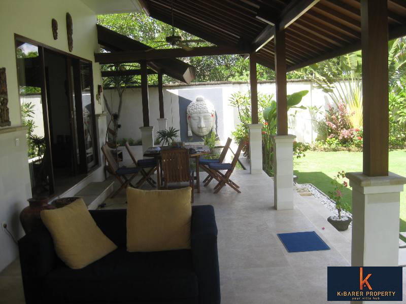 Cozy Beachfront Leasehold Villa For Sale In Canggu
