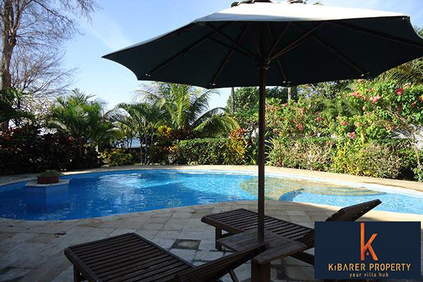 Beachfront Villa for Sale in North Bali