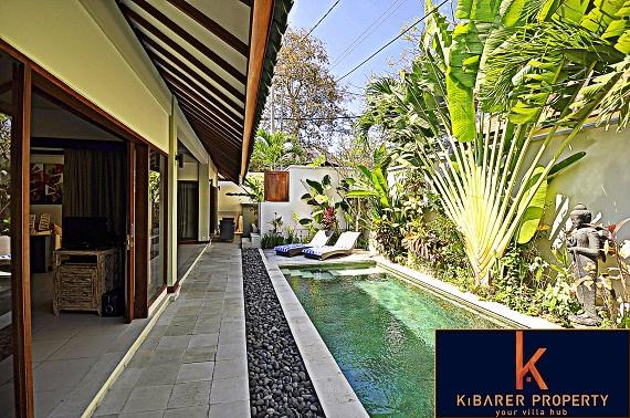 Simple et charmante villa à vendre 2 chambres à Umalas