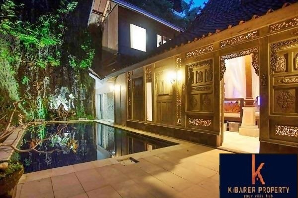 2 Bedroom Stunning Antique Joglo Style Freehold Villa For Sale In Bukit