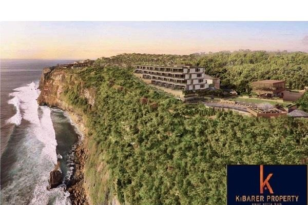Luxurious 2 Bedroom Cliff Front Freehold Apartments For Sale In Ungasan