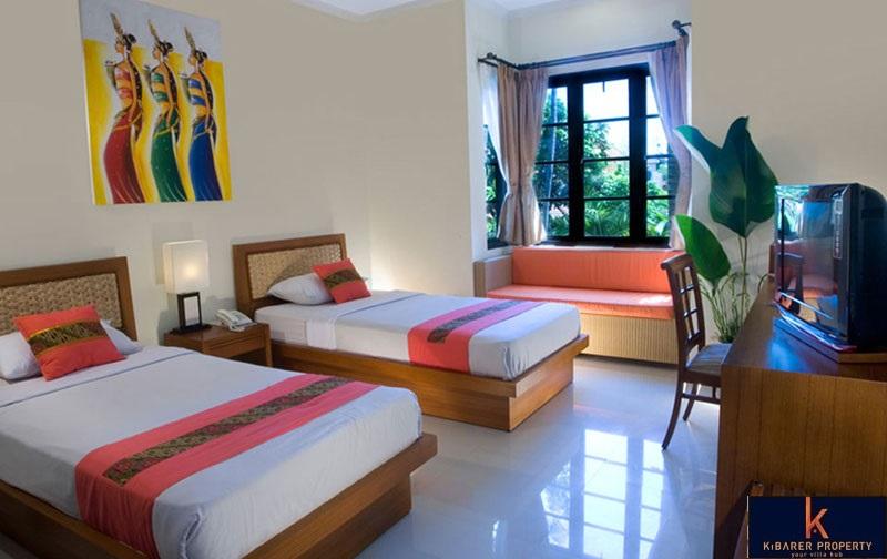 Terbaik Hotel Investasi Leasehold Peluang Dijual di Legian Kuta