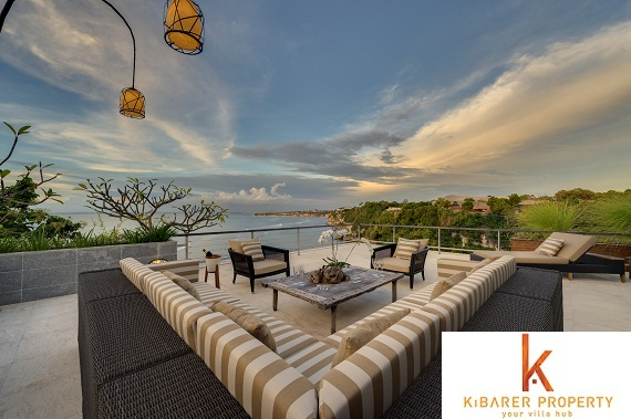 Unique cliff front real estate for sale in Padang Padang