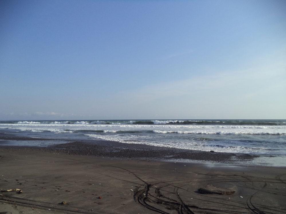 Absolute beachfront freehold land near Villa Babar Tabanan