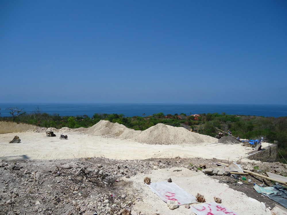 Bali cliff land oceanview 1.5 ha