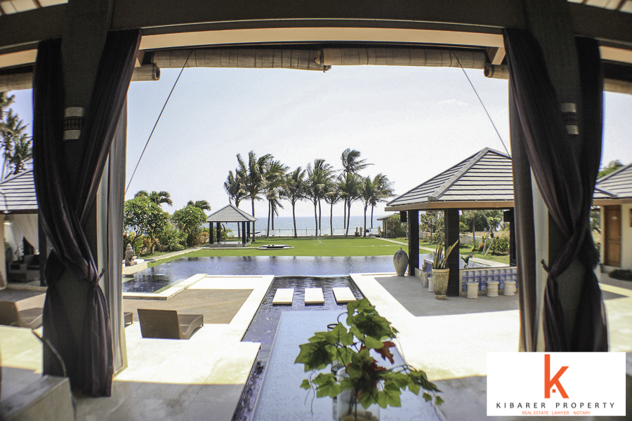 Luxurious Beachfront Villa for Sale in Tabanan