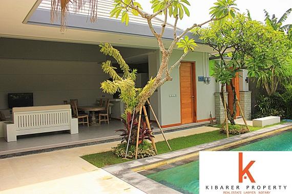 Villa baru dan nyaman di daerah pedesaan Umalas
