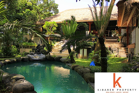 New leasehold villa for sale in Kerobokan