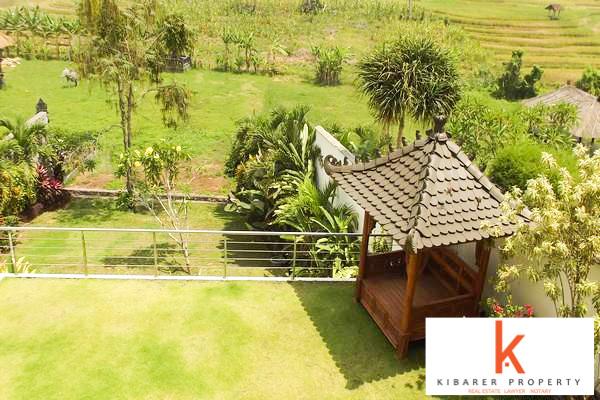 Rice Field Views Villa for Sale in Canggu