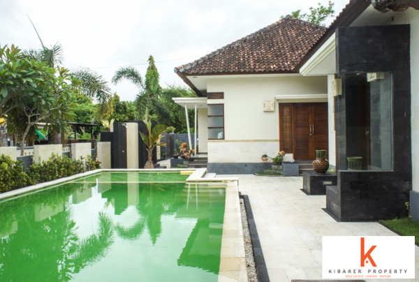 Balinese Modern Villa for Sale in Nusadua