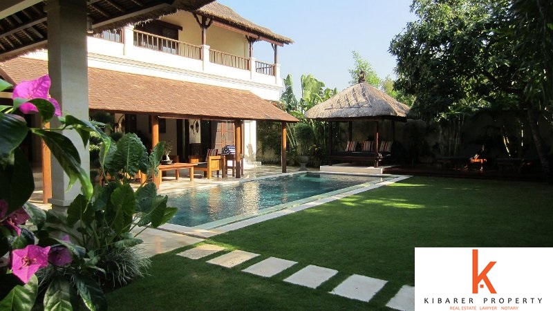 Stunning 4 Bedroom Freehold Property For Sale In Seminyak