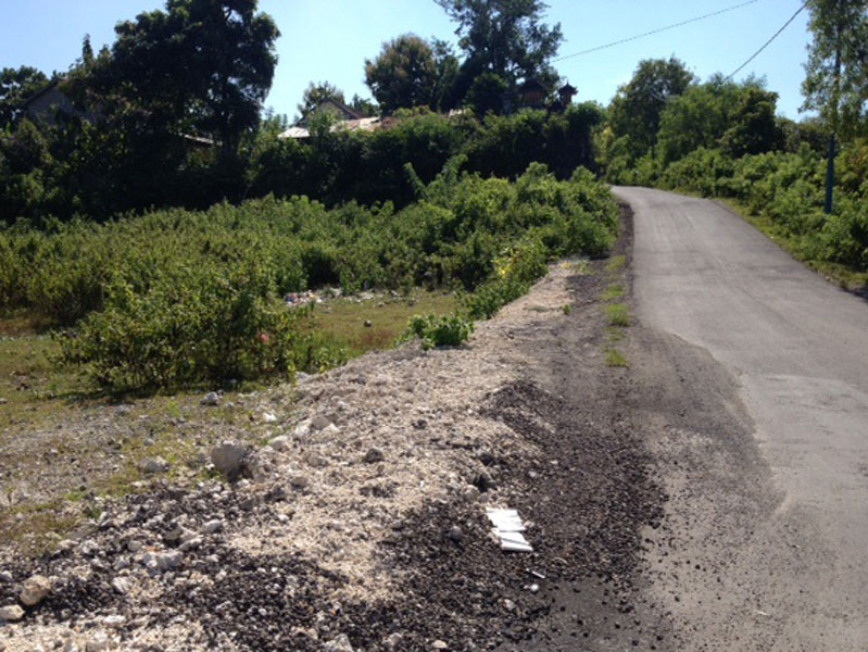 Small plot leasehold land 9.41 are - near Karma Kandara