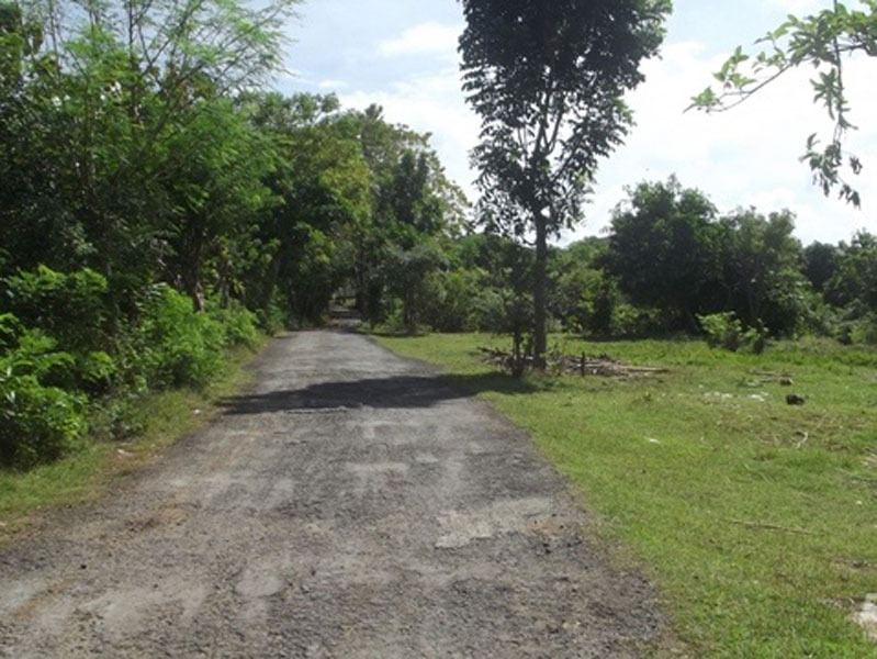 Great freehold land 760 m2 - Goa Gong Bali