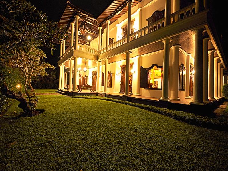 Amazing beachfront villa in Tabanan