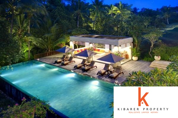 5 Bedroom Iconic Freehold Riverside Real Estate For Sale in Central Bali