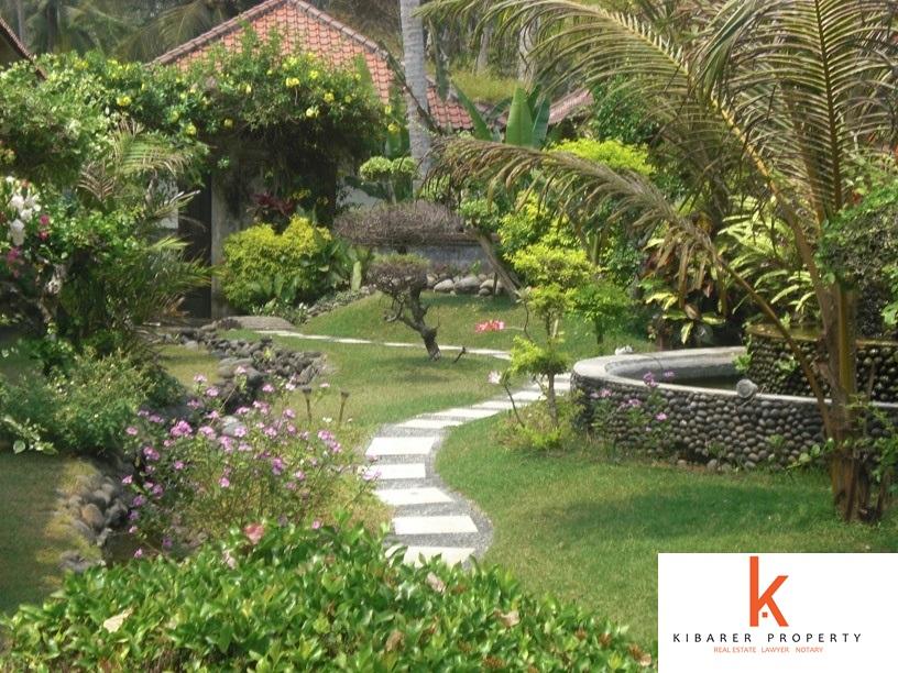 Incroyable traditionnelle 8 Chambres plage Immobilier à vendre à Pekutatan Jembrana