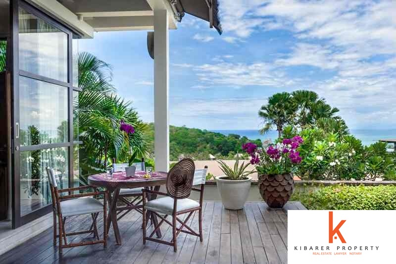Perfect 6 Bedroom Cliff Front Real Estate For Sale in Jimbaran Bay