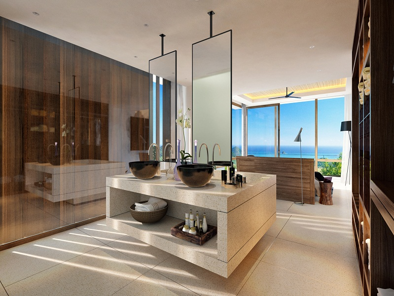 Beautiful units with unique design in a new complex in Lombok