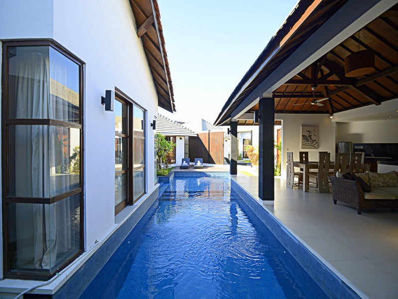Great 2 villas opportunity located in Seminyak