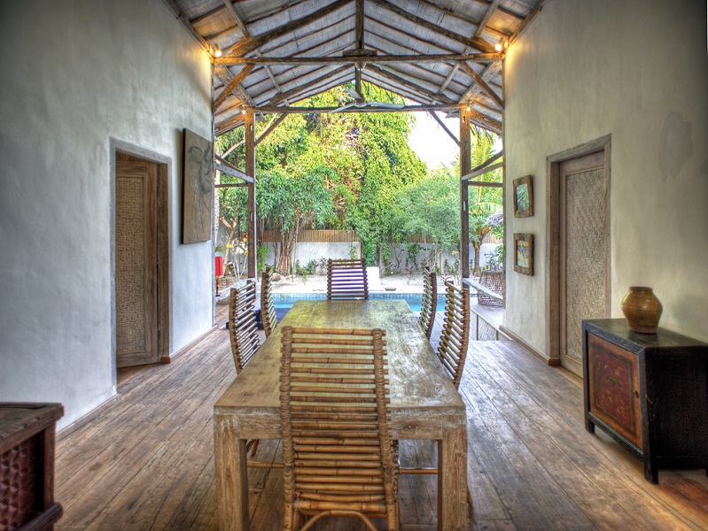 Beautiful villa for sale in Gili Trawangan