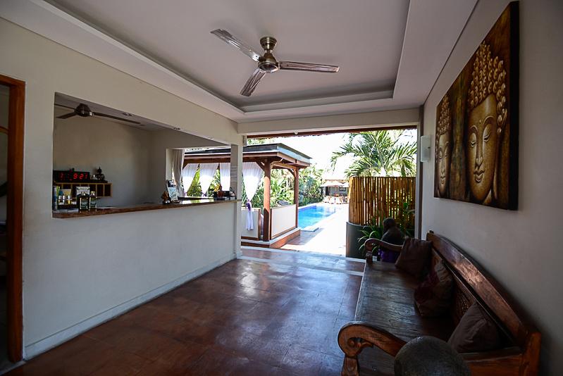 Comfortable modern guesthouse for sale in Kerobokan