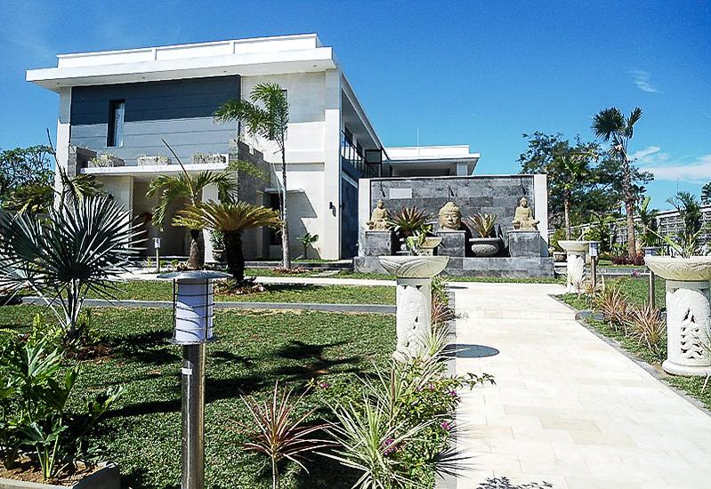 Indah villa pantai pribadi untuk dijual di Klungkung