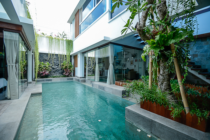 Perfect location modern villa for sale in Seminyak