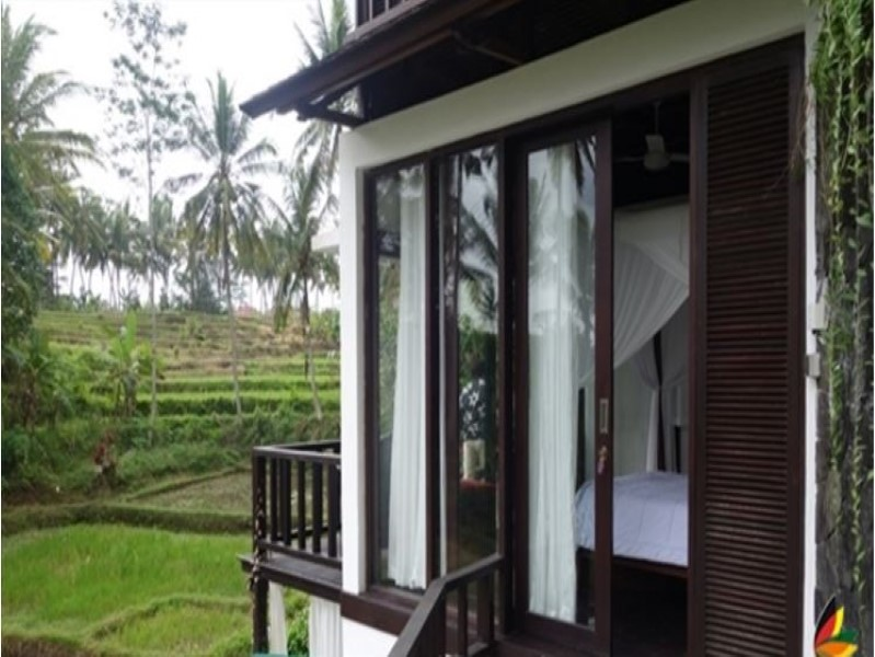 Beautiful 5 Bedrooms Rice Field View Leasehold Property For Sale in Ubud