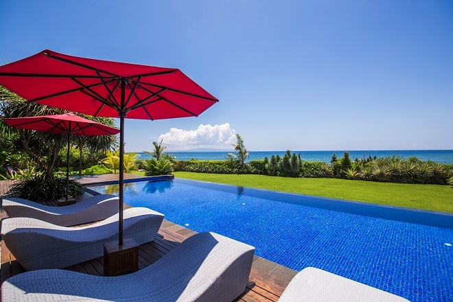 Stunning beachfront villa for sale in Ketewel