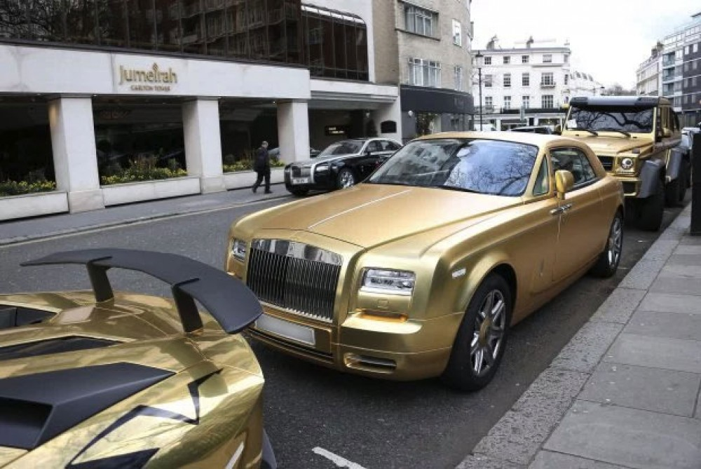 The Identity Of The Gold Supercar Owner