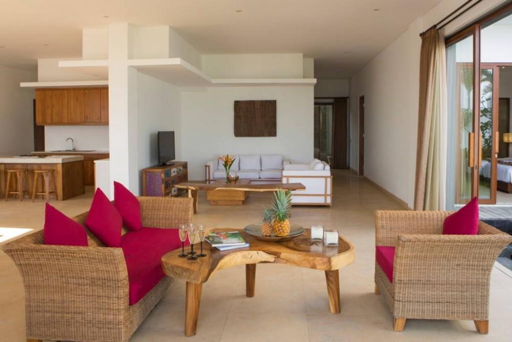 5 kamar tidur mutlak pantai Villa