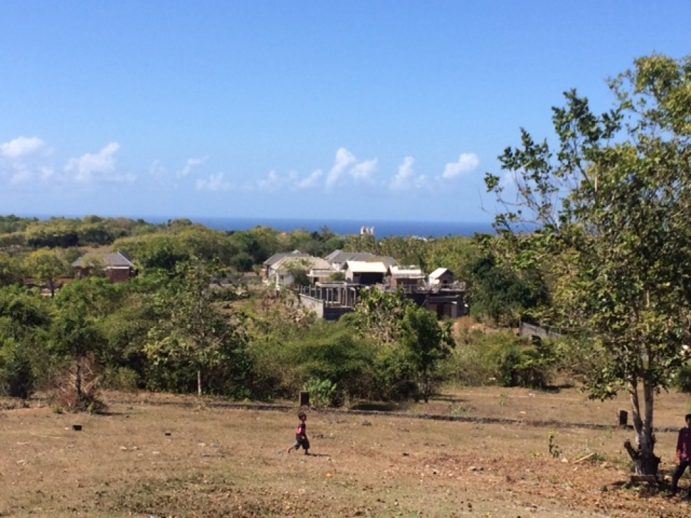 Beautiful Freehold Land With Panoramic Ocean Views For Sale in Bukit