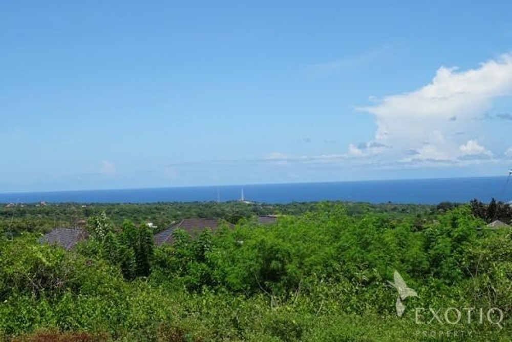Great Ocean View Freehold Land For Sale in Ungasan Bukit