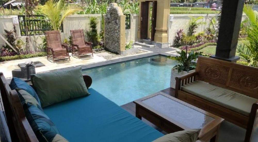 Beautiful villa with large garden in Ubud for daily rents