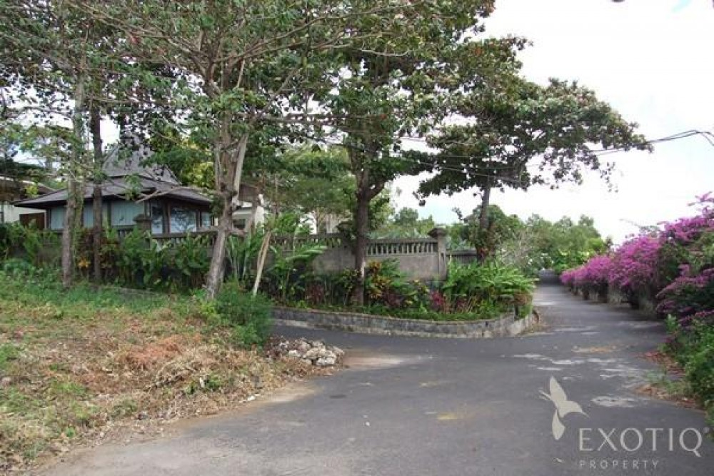 Hill Side dream freehold Land in Jimbaran