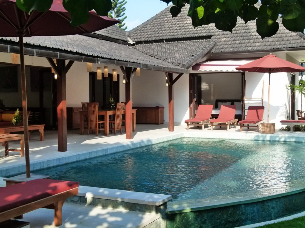 beautiful modern villa in berawa canggu