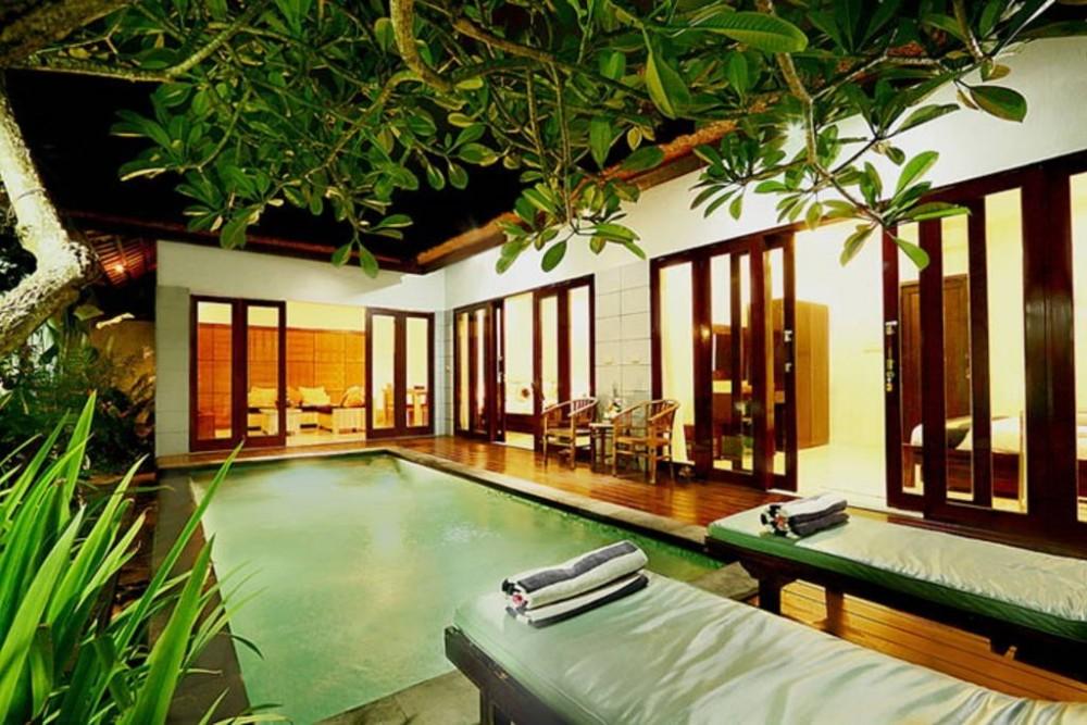 10 chambres, 4 piscines privées, Seminyak Central