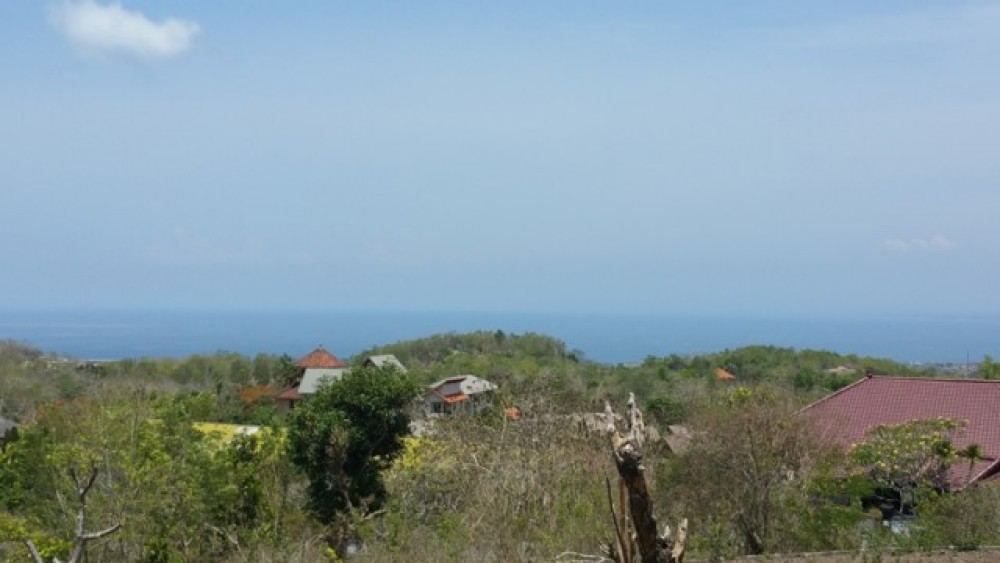Ocean View Freehold Land in Pecatu Bukit