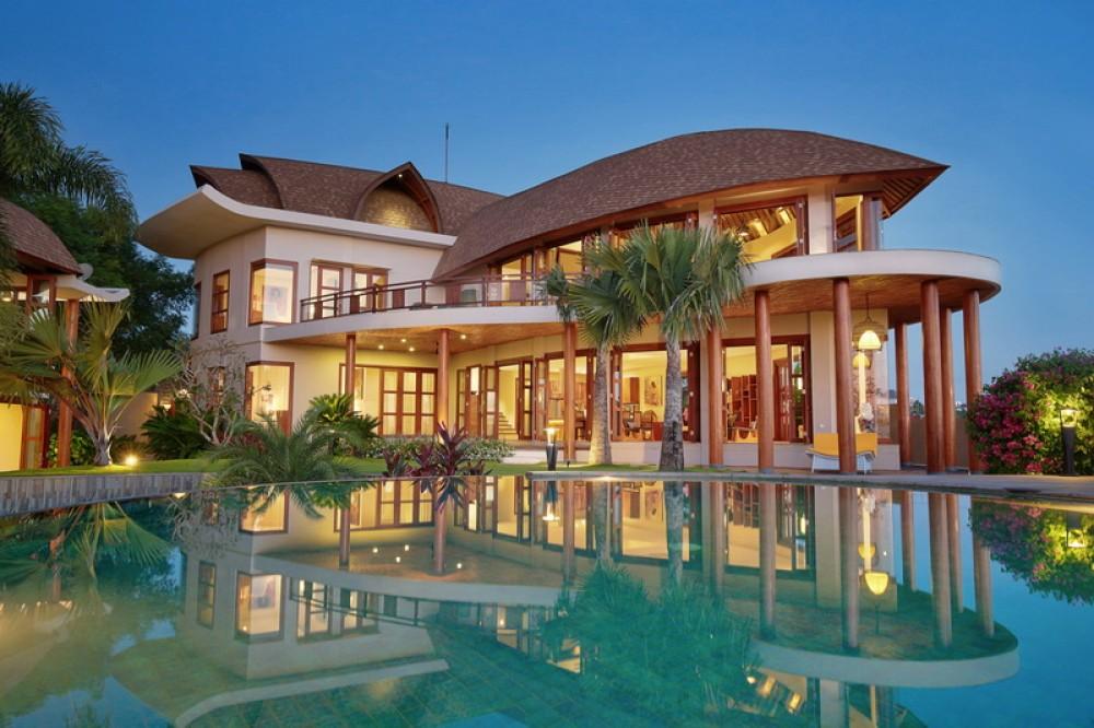 Huge Pool Villa Seaview fr 10people
