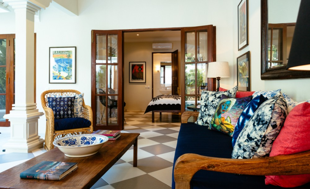 Modern two bedrooms villa for sale in Seminyak