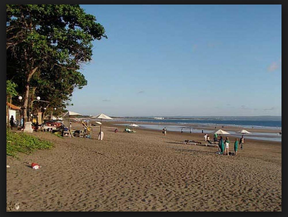Terakhir Beachfront tanah di Canggu Berawa