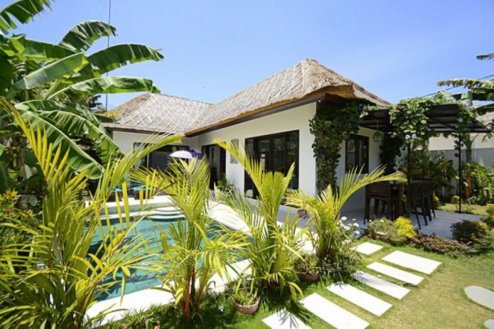 Balinese two bedrooms villa for sale in Ungasan