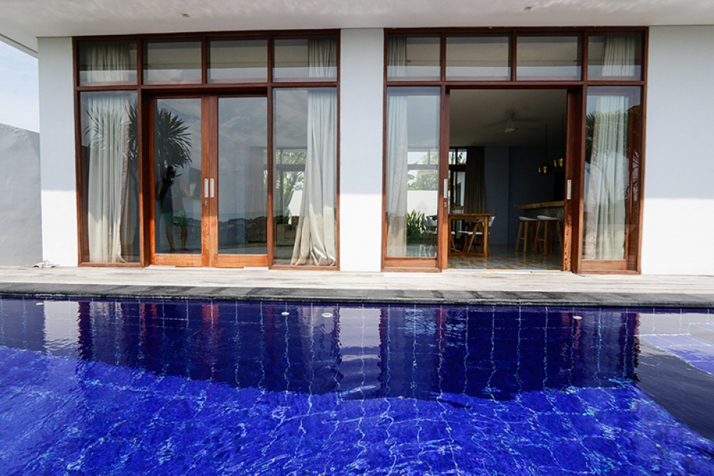 Beautiful two bedrooms villa with rice paddies view for sale in Berawa