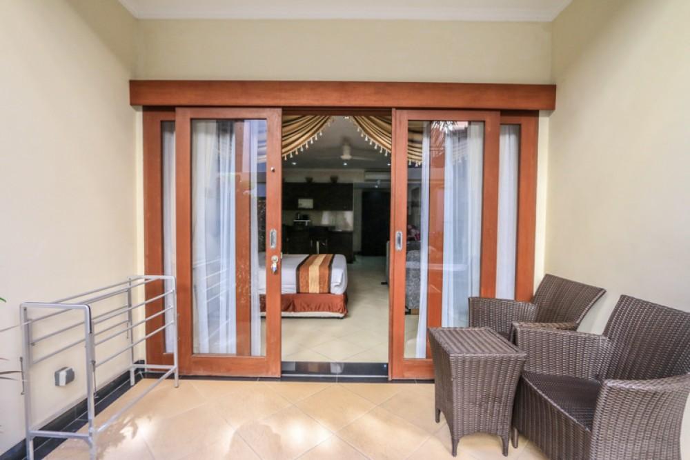 Investasi menakjubkan satu kamar tidur untuk dijual di lokasi utama Legian