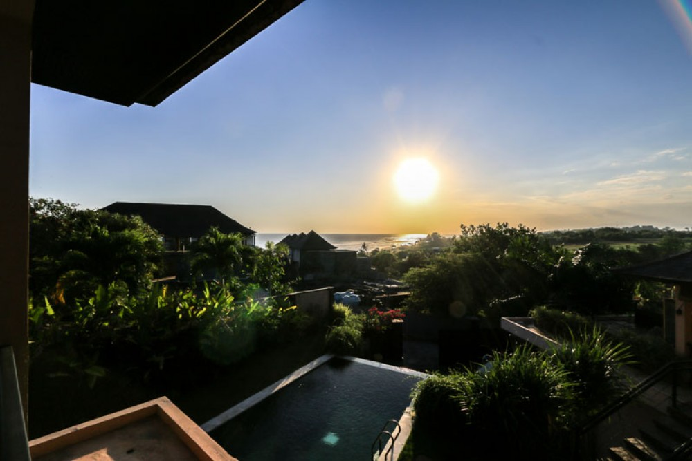 Belle propriété avec vue sur l'océan à Yeh Gangga