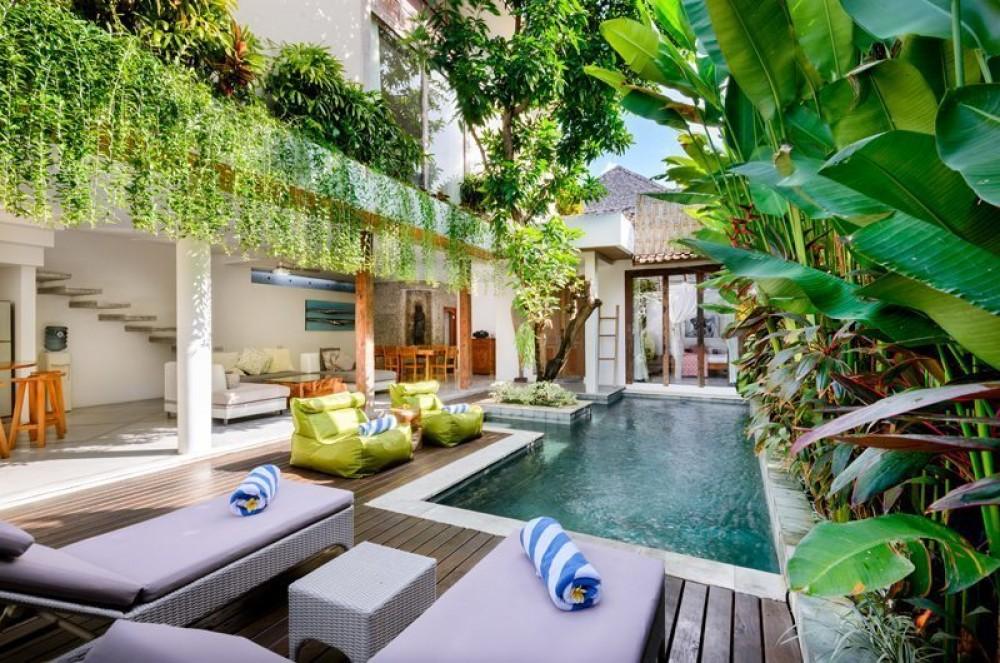Menakjubkan Modern Tradisional 2 Kamar Tidur Tropical Leasehold Real Estate Dijual di Seminyak